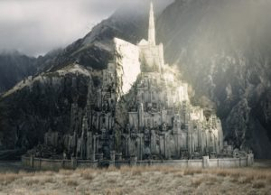 Lord of the Rings Minas Tirith LOTR-ROTK-Minas-Tirith