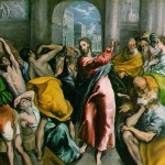 Jesus in the temple (Greco)